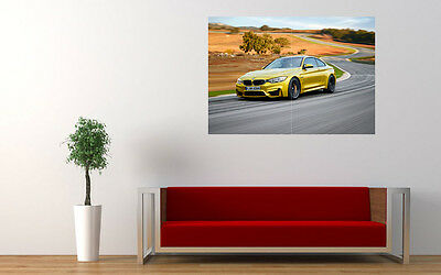 """2015 BMW M4 COUPE NEW GIANT LARGE ART PRINT POSTER PICTURE WALL 33.1""""x23.4"""""""