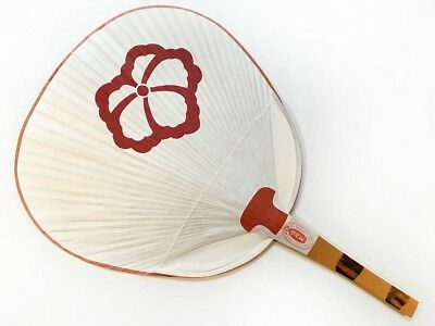 Vintage 1990 Maiko Uchiwa Fan from Kyoto's Famous Gion Geisha District: C