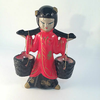 Napco Originals by Giftcraft made in Japan Figure Water Carrier