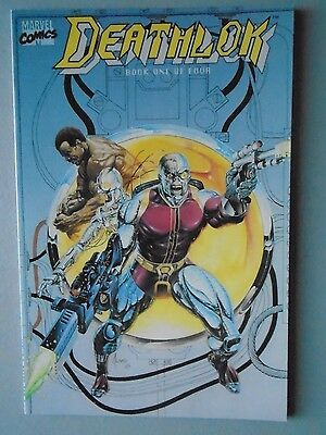 DEATHLOK COMIC LOT (1990) - Marvel 15 Issue Comic Lot Signed by MARK MCKENNA