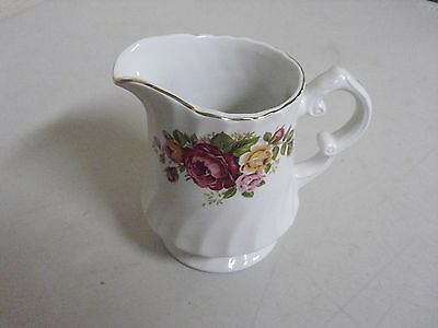 Wood And Sons Cottage Rose Creamer