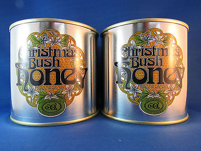 Tasmanian Christmas Bush honey, Twin Pack, 2*750gms tins, free shipping