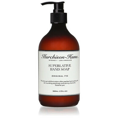 NEW Murchison-Hume Original Fig Superlative Hand Soap 500ml