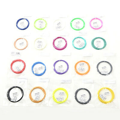 1.75mm Modeling 3D ABS/PLA Print Ink Filament For 3D Drawing Printer Pen Newest