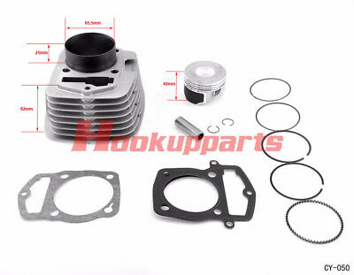 New 250cc Big Bore Cylinder Kit for Honda ATC XL-200 223CM3 CY-50