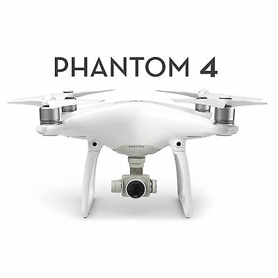 Dji Phantom 4 Quadcopter Drone Fpv 4K Hd Camera Rc Helicopter With Carrying Case