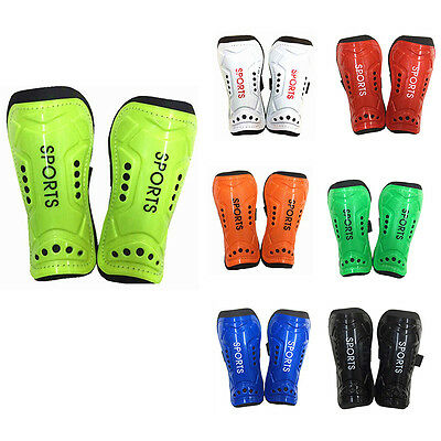 2Pcs Light Soft Football Soccer Guards Shin Pads Sports Leg Protector Wearing