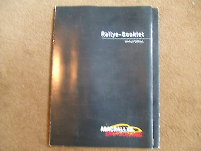 ADAC Rallye Deutschland 2002 Rally Germany WRC 80 page Booklet Programme