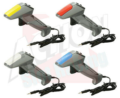 Scalextric Digital Hand Controller Throttle C7002 x4 - Red Blue Yellow White