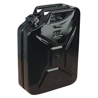 Sealey Jc20B, Jerry Can, 20 Litre, Black, Fuel Containers