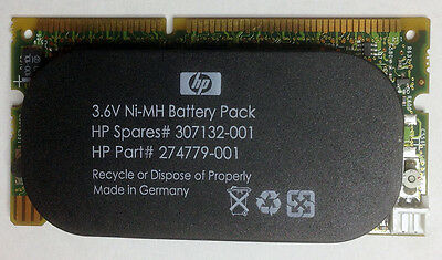 128MB Cache Module HP SPARES 307132-001 AND Attached Battery HP PART 274779-001