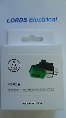 Genuine Audio Technica AT95E Dual Moving Magnet Stereo  cartridge with Stylus
