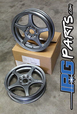 Lenso XPD Gunmetal Drag Skinnies Wheels 15x3.5 4x100 Civic Integra CRX Rims