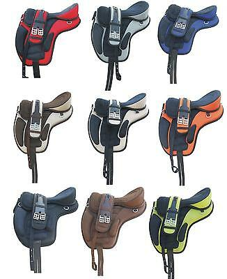 """Freemax Synthetic Treeless Saddle 16"""" 17"""" 18"""" @ discounted price Sale horse sale"""