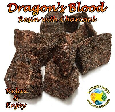 Dragon's Blood Resin with Charcoal Incense
