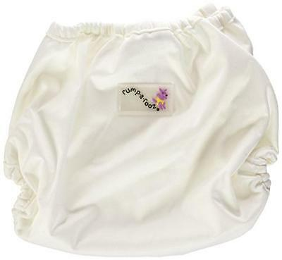 Rumparooz One Size Cloth Diaper Cover Snap, Fluff, New, Free Shipping