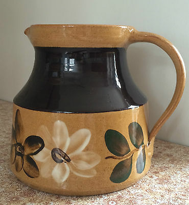 Large Holkham Pottery Jug - Vintage 1950s/1960s - by Cyril Ruffles
