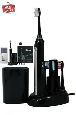 iBrush Electric Toothbrush UV Sanitizer Beauty Tooth Clean Oral Care Gum Comfor