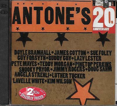 CD album: Compilation: Antone's 20Th Anniversary. discovery. Y