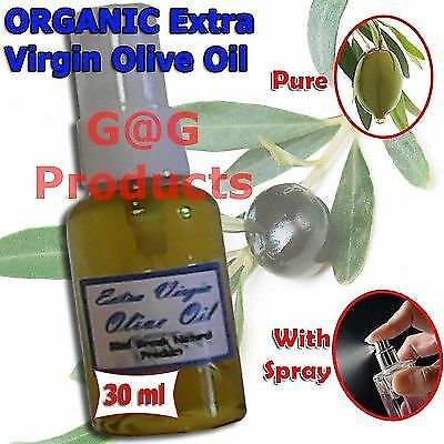 ORGANIC Extra Virgin Olive Oil-100% Pure-30ml with spray