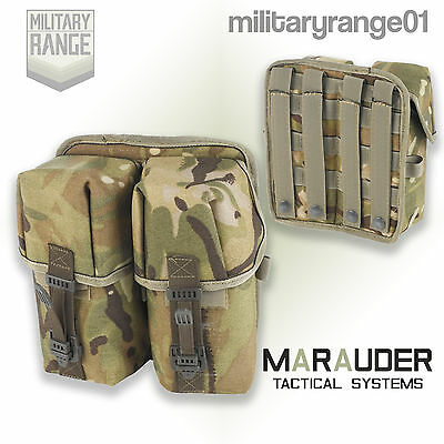 Marauder Citex Double Ammo Pouch - Molle - British Army MTP Multicam - UK Made