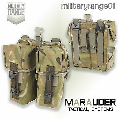 Marauder Citex Double Ammo Pouch - PLCE - British Army MTP Multicam - UK Made