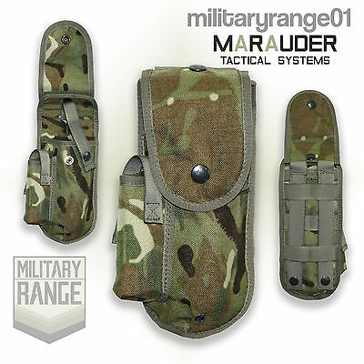 Marauder 9mm Browning Holster - Molle - British Army Multicam MTP - UK Made