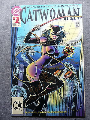 CATWOMAN #1 NM- 9.2 Near Mint- SIGNED Catch a Star Collectibles Certificate COA