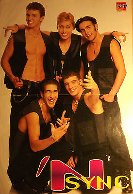 1 german poster JUSTIN TIMBERLAKE SHIRTLESS N`SYNC BOY BAND BOYS GROUP HUNK MAN