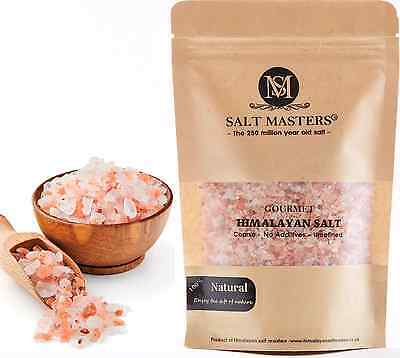 Coarse Himalayan Pink Salt - Unrefined Pure - Naturally Organic - Food Grade