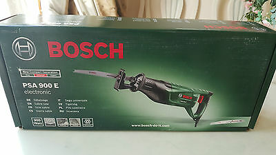Bosch PSA 900 E Electronic Sabre Saw Reciprocating Saw 230V Corded Electric 900W
