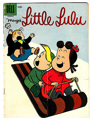 MARGE'S LITTLE LULU #115 (VG) Early Silver-Age Issue! 1958 Vintage Dell Comic