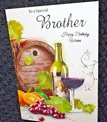 Happy birthday brother in lawrthday greetings card new brother happy birthday greetings card m4hsunfo