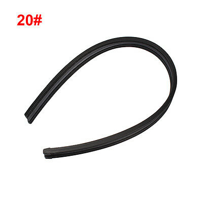 "2x 20"" Frameless Universal Car Bus Windshie Wiper Blade Rubber Refill Strips"