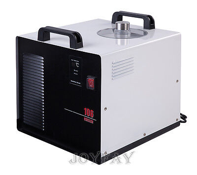 116 Industrial Water Cooled Chiller Cool Cooling Water Machine 300 J/S