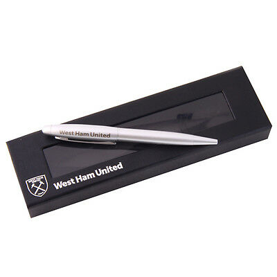West Ham United Fc Executive Etched Ball Point Pen Souvenir New Gift Xmas