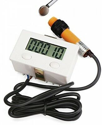 Digital Electronic Cumulative Counting Meter LCD Automated Counter CC12135