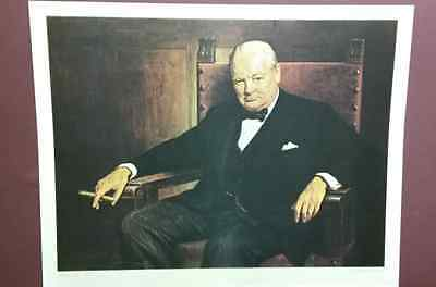 Sir Winston Churchill by Arthur Pan,Print