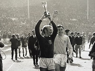"ENGLAND World Cup WINNERS 1966 - Original 12x16"" darkroom print"