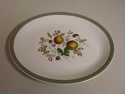 Alfred Meakin Hereford Oval Serving Platter 11 7/8 X 10 Inches