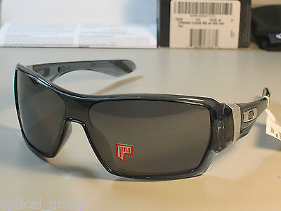 OAKLEY POLARIZED OFFSHOOT SUNGLASSES OO9190-05 CRYSTAL BLACK/BLACK IRID OZseller