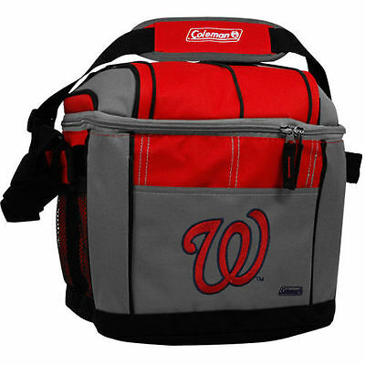 Coleman Washington Nationals 24-Can Cooler - Red