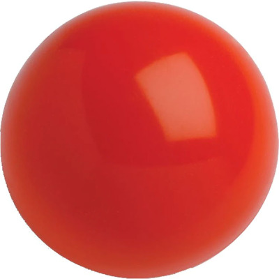 Lot 500 X .68 Cal. PVC Nylon Riot Balls Self Defense Less Lethal Paintballs RED