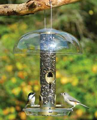 "Aspects 12"" Tube Top Bird Feeder Weather Dome Aspects Bird Feeder NOT INCLUDED"