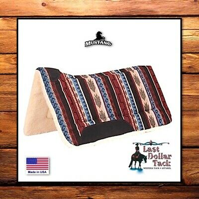 Smart Southwest ~ Dodge City Pottery ~ Contoured Western Saddle Pad