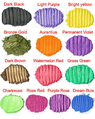 Cosmetic Grade Natural Mica Powder Pigment Soap Candle Cosmetic Colorant Dye
