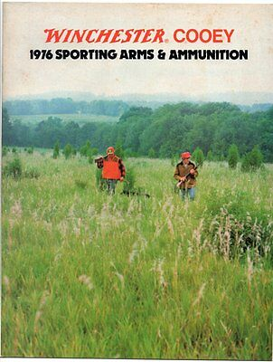 WINCHESTER COOEY 1976 Catalog SPORTING ARMS AMMUNITION CANADA Edition Cobourg ON