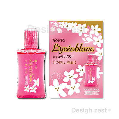 Eyestrain ROHTO Pharmaceutic NIB EYE LOTION Lycee blanc Eyedrops MIJ F/S withT/N