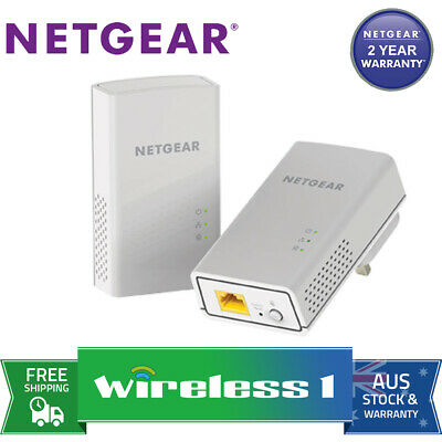 Netgear PL1000 Gigabit Powerline Adaptors