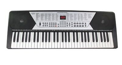 Synthetiseur 61 Touches Numerique Lcd Clavier Piano Apprentissage Neuf Madison